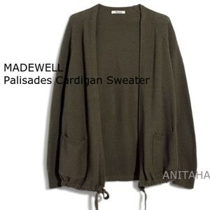 MADEWELL Palisades Cardigan Sweater Style J8665